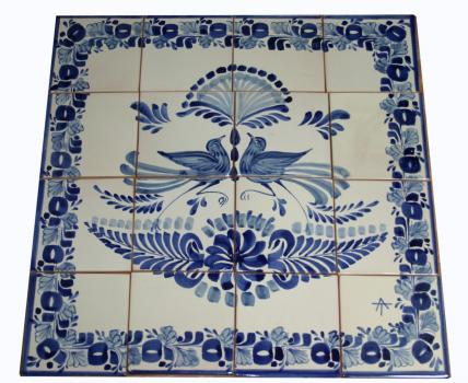 mexican ceramic mexican potttery folk art talavera Gorky Gonzalez Wall Tiles<br>Catalogue