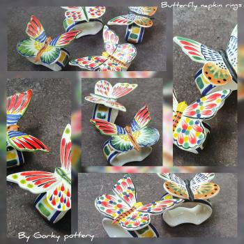 mexican ceramic mexican potttery folk art talavera Gorky Gonzalez Accesories<br>Catalogue