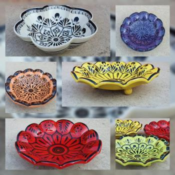 mexican ceramic mexican potttery folk art talavera Gorky Gonzalez Contemporary Line<br>Coleccion