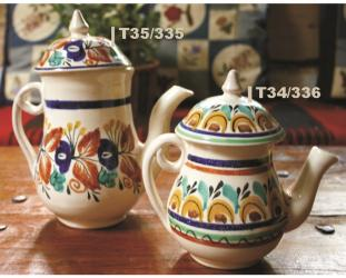 Mexican pottery mexican ceramic folk art Tea Pot