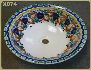 Mexican pottery mexican ceramic folk art X074
