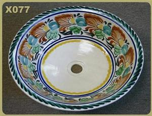 Mexican pottery mexican ceramic folk art X077