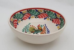 190712-17-01+mexican-bowl-handmade-handcrafts-rooster-christmas-tableware-talavera-majolica