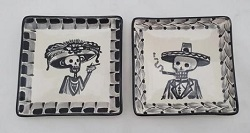 190905-35-mexican-ceramic-plates-tapas-plates-pottery-hand-made-mexico-amazon-catrina-decorative-halloween-day-of-dead