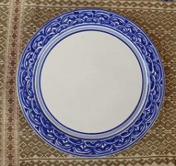 200519-12-mexican-plates-blue-talavera-table-top-foodsafe-amazon