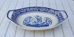 200722-18-03-mexican-ceramic-pottery-oval-bowl-with-handle-talavera-majolica-hand-made-mexico-table-serving-bird-motive