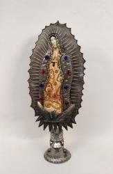 mexican pottery mexican ceramic folk art talavera Virgin of Guadalupe