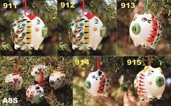 mexican pottery mexican ceramic folk art talavera Pg Ornament