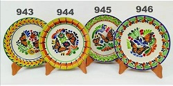 mexican pottery mexican ceramic folk art talavera Butterfly Pattern