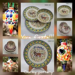 Mexican pottery mexican ceramic folk art Party Collection
