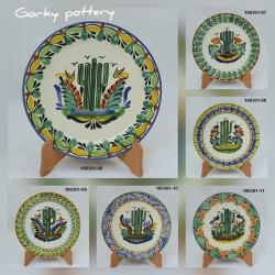 mexican ceramic mexican potttery folk art talavera Gorky Gonzalez Cactus<br>Collection