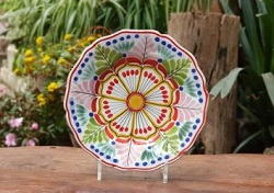 flower-plate-blue-talavera-handcrafts-gto-mexico-art-gallery-tableware-tabledecor-majolica-ii
