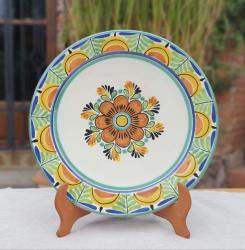 mexican-blue-plates-flower-tabledecor-tableware-amazon-etsy-custom-ceramic-gto