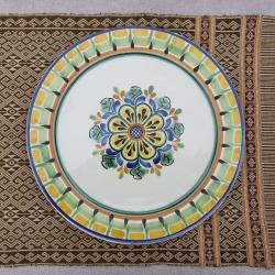 mexican-blue-plates-flower-tabledecor-tableware-amazon-etsy-custom-ceramic-mexico