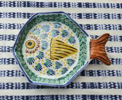 mexican-ceramic-fish-snack-plate-tableware-tabledecor-handcrafts-mexico-folk-art