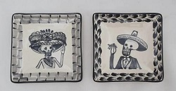 mexican-ceramic-plates-tapas-plates-pottery-hand-made-mexico-amazon-catrina-decorative-halloween-day-of-dead