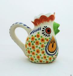 mexican-ceramic-pottery-folk-art-creamer-rooster-majolica-hand-made-mexico-iv