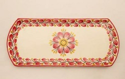 mexican-ceramic-tray-pottery-hand-painted-guanajuato-mexico-tableware-amazon-red-flower