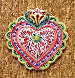 mexican-ornament-love-heart-red-hand-crafts-pottery-hand-made-mexico-decorative-christmas-nativity-talavera-majolica-1