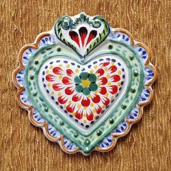 mexican-ornament-love-heart-red-hand-crafts-pottery-hand-made-mexico-decorative-christmas-nativity-talavera-majolica-2