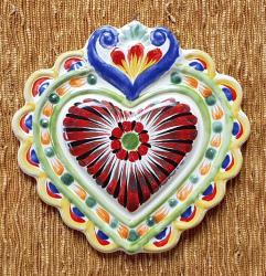 mexican-ornament-love-heart-red-hand-crafts-pottery-hand-made-mexico-decorative-christmas-nativity-talavera-majolica-3