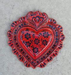 mexican-ornament-love-heart-red-hand-crafts-pottery-hand-made-mexico-decorative-christmas-nativity-talavera-majolica