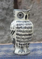 mexican-pitcher-owl-water-ceramic-folklor-mexico-black-tableware