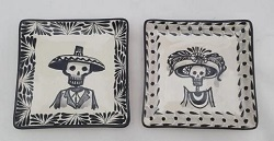 mexican-plates-tapas-plates-ceramic-hand-made-mexico-amazon-catrina-decorative-halloween-day-of-dead