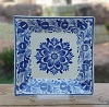 flower-design-ceramic-plate-square-handmade-mexico